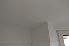 Bedroom ceiling repaired and repainted